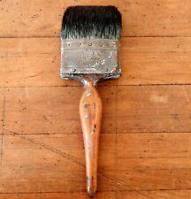 Vintage Paint Brush Hamiltons Congo Old Decorators Tool Pure Bristle #A