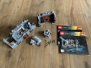 Lord of the Rings LOTR LEGO 9473 The Mines of Moria No Minifigures Great Condn