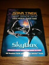 Skybox 1993 Star Trek Deep Space Nine Premiere 48 Trading Cards Set MT