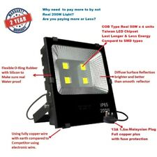 High Power 200W Water Proof LED Flood Light Taiwan led chipset - Warranty 2 Year