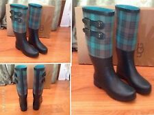 UGG Size 6 US Channing 11 Rain Snow Boots Green New