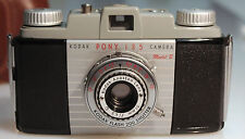 KODAK Pony 135 Camera Model B in Excellent Condition with Field Case 341-101045