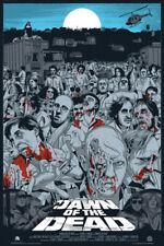 Mondo print Jeff Proctor - Dawn of the Dead Variant Mondo Mystery Movie