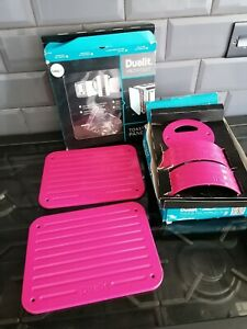 DUALIT ARCHITECT KETTLE AND TOASTER PANELS PINK