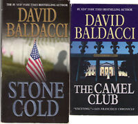 Complete Set Series 5 Camel Club + 1 Bonus by David Baldacci - 6 Books Total