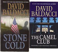 Complete Set Lot of 5 Camel Club Books by David Baldacci (Suspense) Fiction