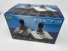 NEW Apem CH Products IPD Desktop USB PTZ Controller Joystick CCTV 12 Butt 3 Axis