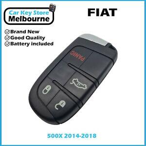 FIAT 500X 2014-2018 Smart Key   3 or 4 Buttons   KeylessGo   ID4A   SIP22