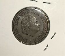 1956 Netherlands Coin - 5 Cent Juliana