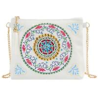 DIY Special Shaped Diamond Painting Chain Clutch Leather Crossbody Bags