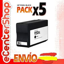 5 Cartuchos de Tinta Negra NON-OEM 950/951XL - HP Officejet Pro 8600 Plus