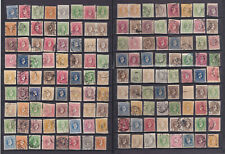 GREECE..1886-1900 a collection ( 2 full pages) of small HERMES HEADS