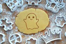 Gespenst Geist Halloween Präge-Ausstecher 6cm Ausstechform 3D Plätzchen Keks