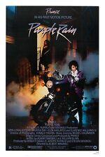 1980's Art Rock:  Prince * Purple Rain * USA Movie Poster 1984 Large: 24x36