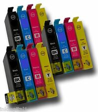 12 x Cartucce Inkjet Per Canon MX700, iP3500 - 3 Set di 4