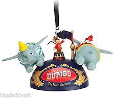New Disney Parks Dumbo The Flying Elephant Mickey Ear Hat Christmas Ornament