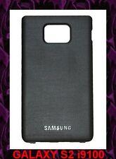 ★★★ NOIR Façade ARRIERE Cache Batterie Samsung GALAXY  S2  I9100