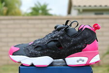REEBOK INSTA PUMP FURY X BAU SZ 5 BLACK PINK FUSION FRANK THE BUTCHER M40927