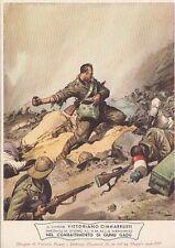 A5519) WW ETIOPIA, CARABINIERI EROICI, M. O. CIMMARRUSTI DA CANNETO DI BARI.