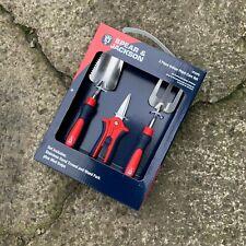 Spear & Jackson 3pc Indoor Plant Care Tool Set - Mini Snips Garden Trowel Fork