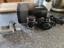 Olympus OM-D E-M10 Mark III with 14-42 EZ Lens and 40-150mm R Lens