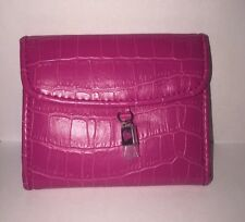 Mary Kay® MK Pink Faux Croc Wallet New In Factory Plastic