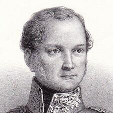 Portrait XIXe Frédéric-Guillaume IV de Prusse Friedrich Wilhelm IV Allemagne