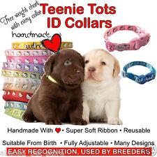 6 / 10 HELLO KITTY Whelping ID Puppy Kitten Collars Super Soft Ribbon Adjustable