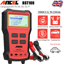 12V Car Battery Tester Cranking Charging Analyzer Circut load Diagnostic Tool