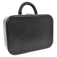 Auth LOUIS VUITTON Valisette MM Hand Bag Men's Black Monogram Glace Box V14620