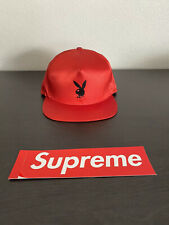 Supreme Playboy Snapback Hat Red