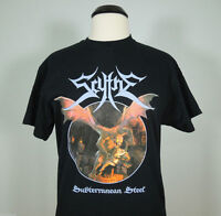 SCYTHE Subterranean Steel Armed Official T-Shirt XL (R.I.P. Records) NEW Usurper
