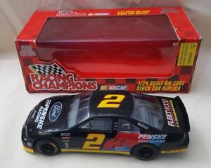 Racing Champions #2 Wallace1:24 Scale Diecast stock car replica NASCAR 1996 vtg.