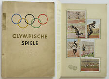 OLYMPIC GAMES JEUX OLYMPIQUES 1936 Vignettes stickers album complet