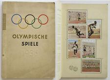 Olympic Games Olympische Spiele 1936 Sammelbilder Sticker Album komplett