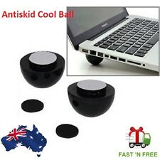 Laptop Notebook Antiskid Cooling Cooler Stand Cool Ball Leg Feet Skidproof Pad