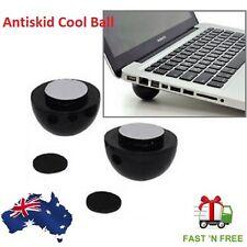 Laptop Notebook Antiskid Cooling Cooler Stand Cool Ball Leg Feet Skidproof Pad