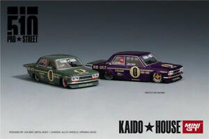 Kaido House & MINIGT Datsun 510 Pro Street OG LHD Diecast Car