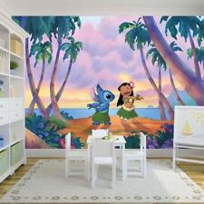 Lilo & Stitch Disney Photo Wallpaper Woven Self-Adhesive Wall Mural Art M119