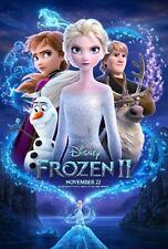 Disney's FROZEN II  AUTHENTIC STUDIO D/S 27 x 40 POSTER  BRAND NEW