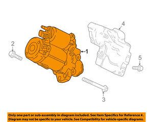 GM OEM-Starter Motor 12667973