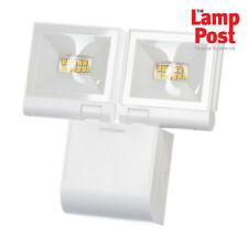 Timeguard LED200FLWHE 2x 10W LED Compact Floodlight Twin Flood Light - White