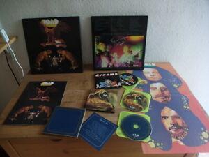 Swiss Prog, Toad – Toad - Tomorrow Blue - Dreams 3-CD Box Set Acid Rock