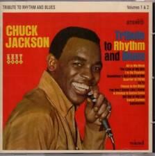 CHUCK JACKSON Tribute To Rhythm And Blues NEW & SEALED 60s SOUL CD (KENT) R&B