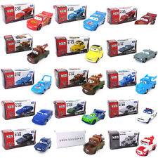 New Tomy Disney Pixar Car C-02 Dinoco McQueen 1:64 Diecast Metal Toy Kids Gifts