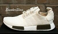 NEW Adidas NMD R1 Nomad Runner CHAMPS EXCLUSIVE Chalk White Olive CQ0758 Sz 7-14