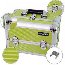 Beauty Case Make Up Nail Art DynaSun BSS35 Verde XXL Valigia Porta Gioie Oggetti