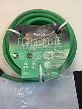 Flexon 5/8 in. x 50 ft. FeatherLite Hose with Swivel Male Coupling M54B