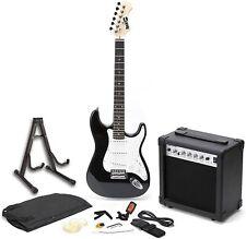 RockJam E-Gitarre Superkit Gitarrenverstärker Tasche Anfängerset unvollständig