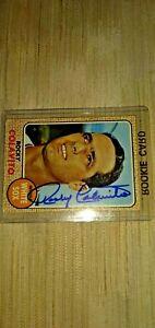 ROCKY COLAVITO AUTOGRAPH SIGNED ON HIS 1968 TOPPS CARD. (NO COA).